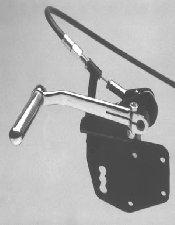 FLHT Model Suicide Clutch Pedal